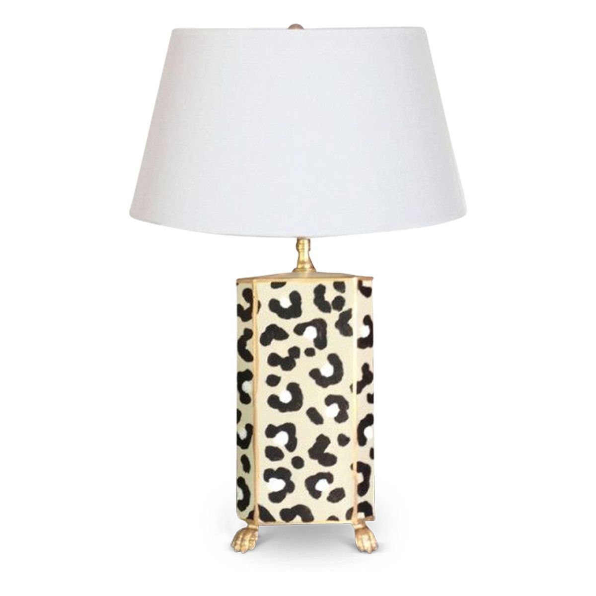 Leopard lamp decorating ideas pinterest white leopard this hand painted white leopard lamp with little gold feet is the perfect animal print accent to your bedroom living room or office geotapseo Gallery