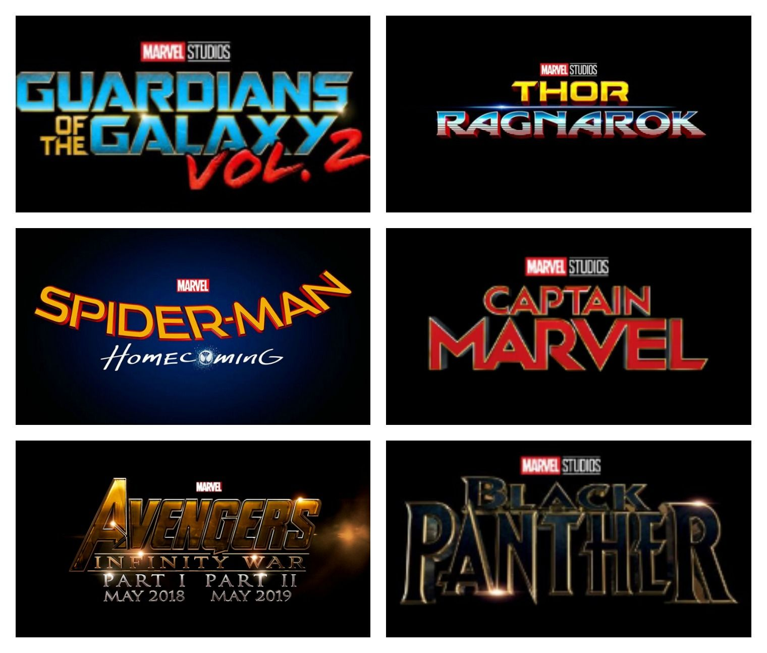 list of upcoming marvel movies to get excited about! + new marvel's