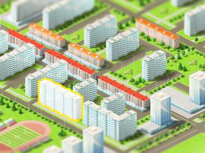 """Residential area """"City Garden"""""""