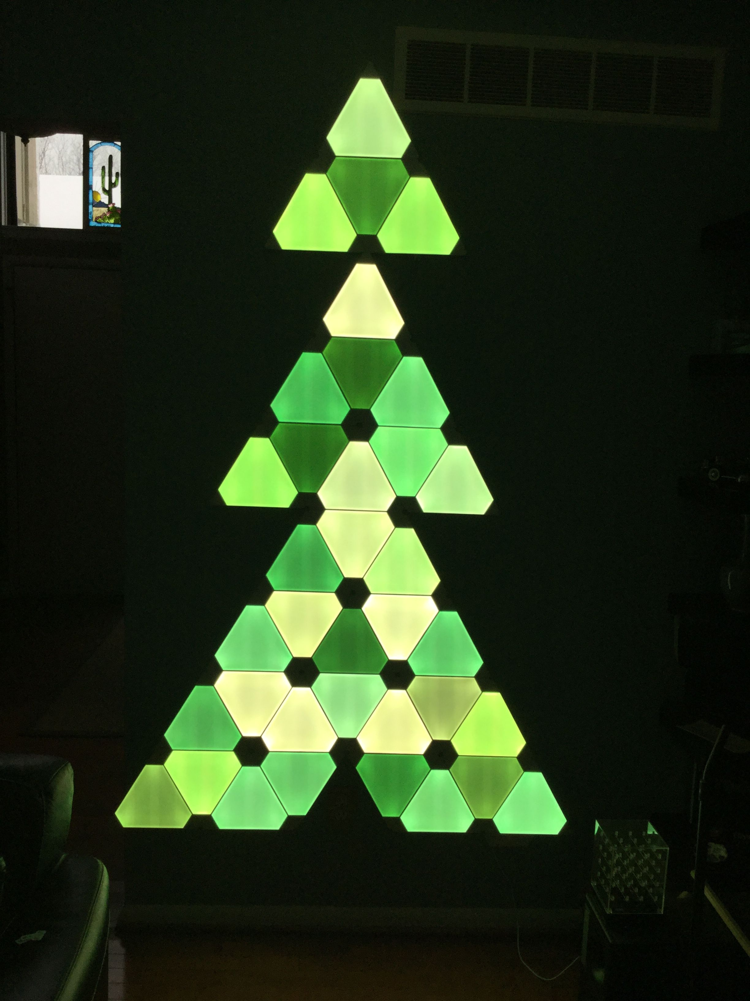 Nanoleaf Christmas Tree
