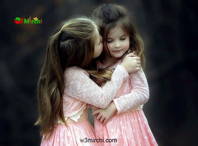 Girls Friendship Dp For Whatsapp Dpz Cute Sisters Baby