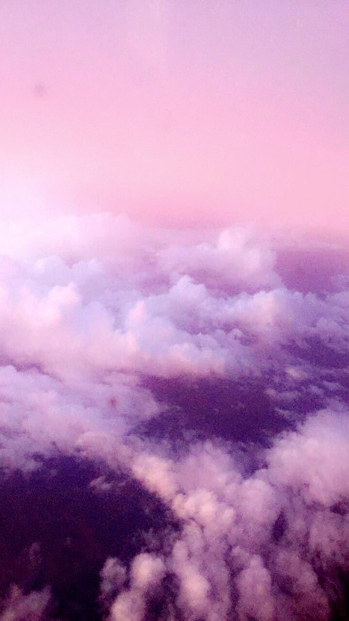 Nofilter Iphone pink and purple sky wallpaper