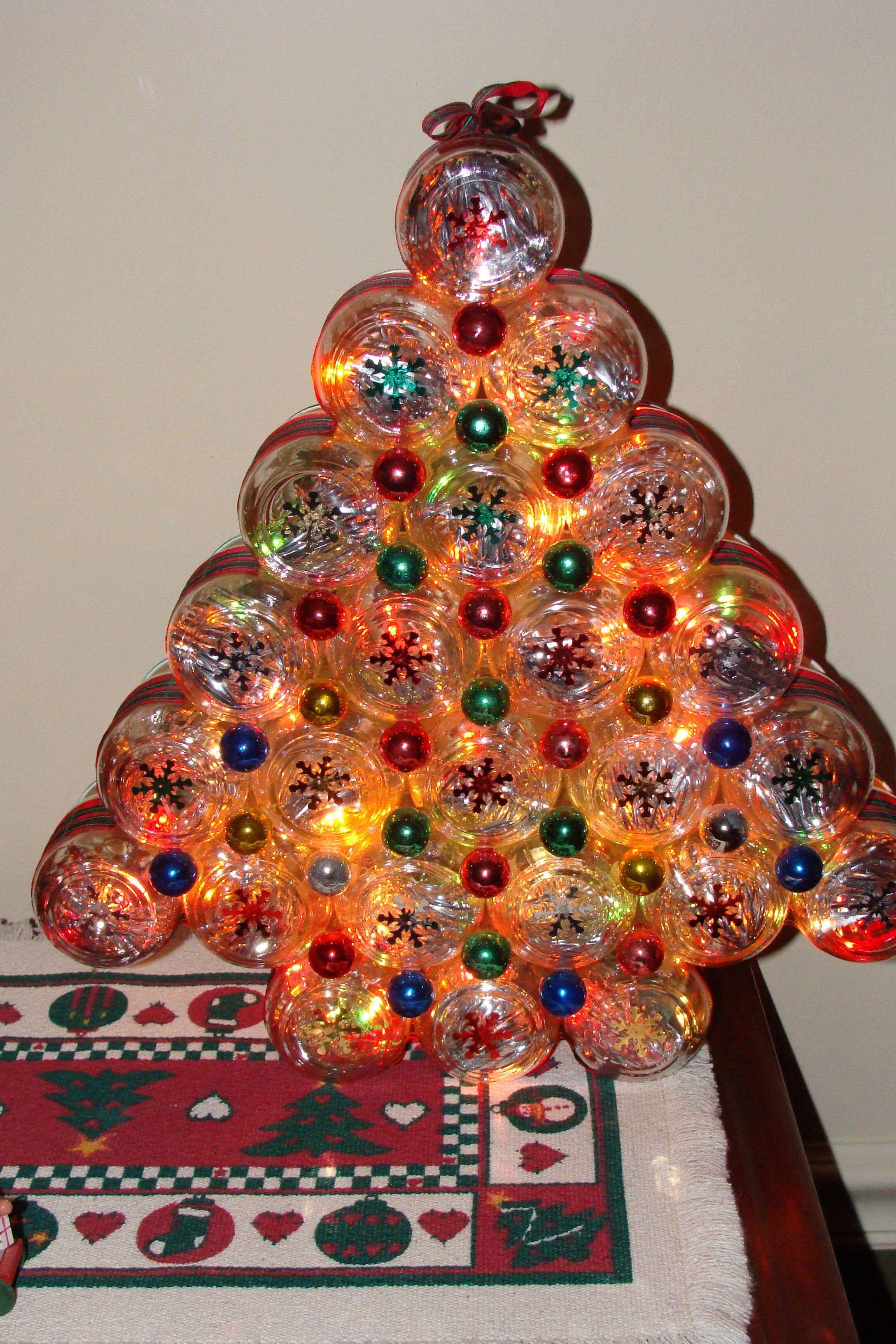 Baby Food Jar Christmas Tree Too Cute Christmas