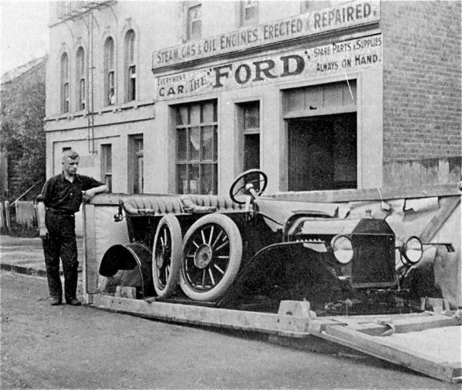 Some Assembly Required A Model T Ford As Delivered In New