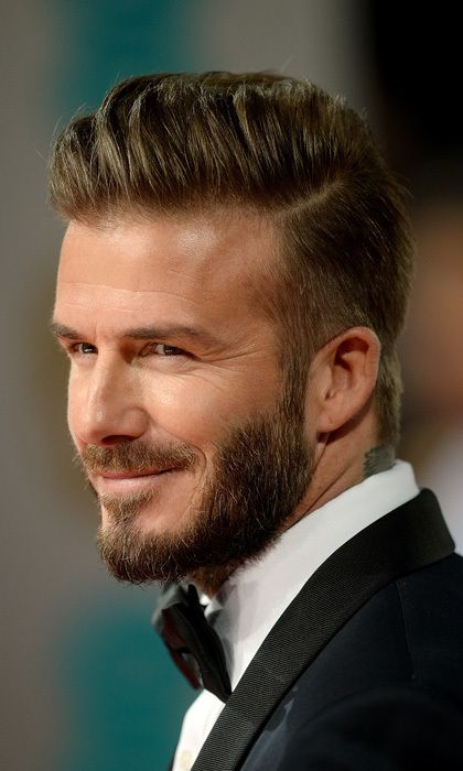David Beckhams Most Iconic Hairstyles Cornrows Were A Bad - David beckham hairstyle back view 2015