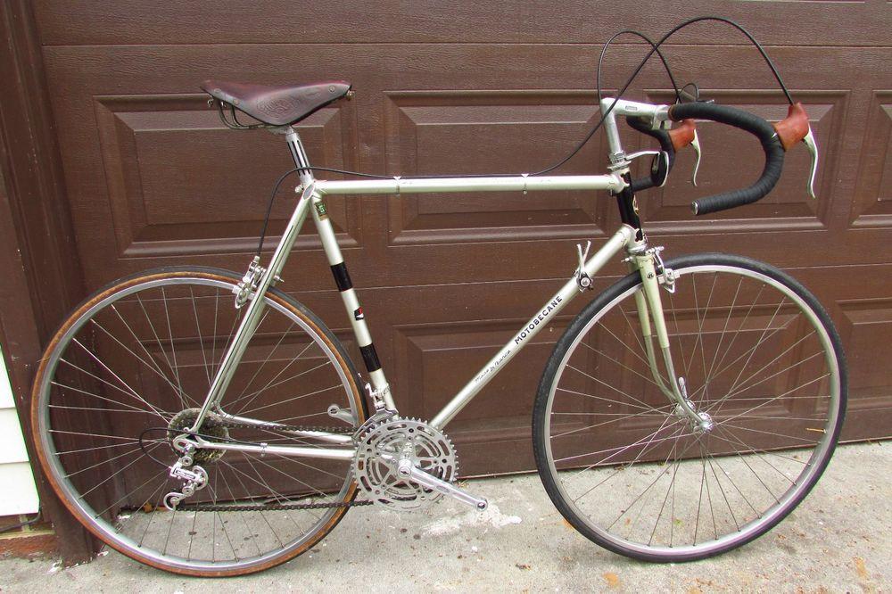 Vintage Motobecane Grand Record Bicycle Campagnolo Road Ideale