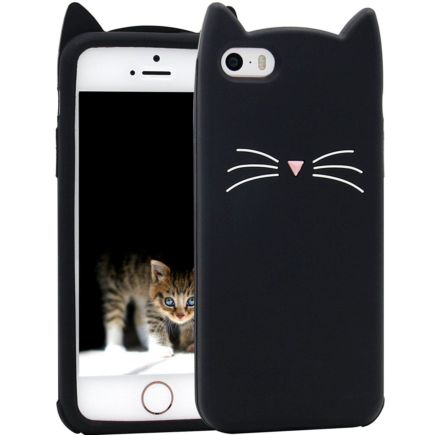 Pretty Cool Cell Cover Cat Whiskers Iphone 5s Cases Silicon Case
