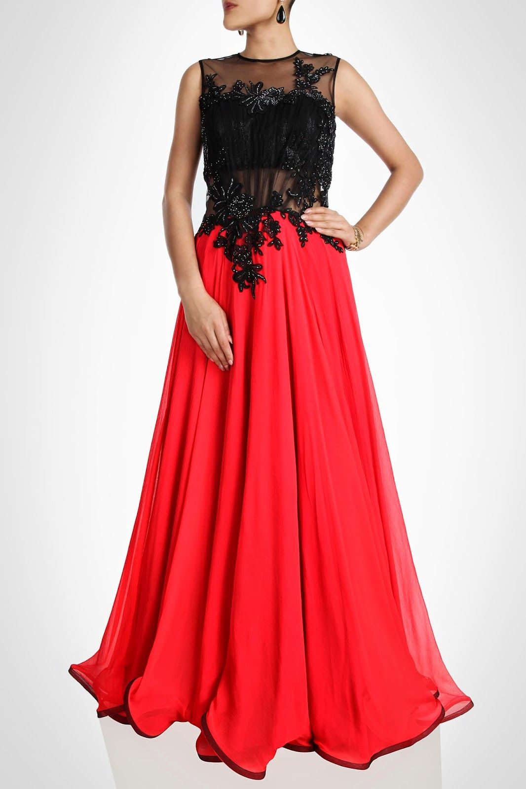 e999c33c36 perniaspopupshop red n black gown - Google Search