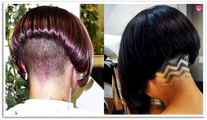 Extreme Nape Rasur Bob Frisuren Und Frisuren Für Frauen