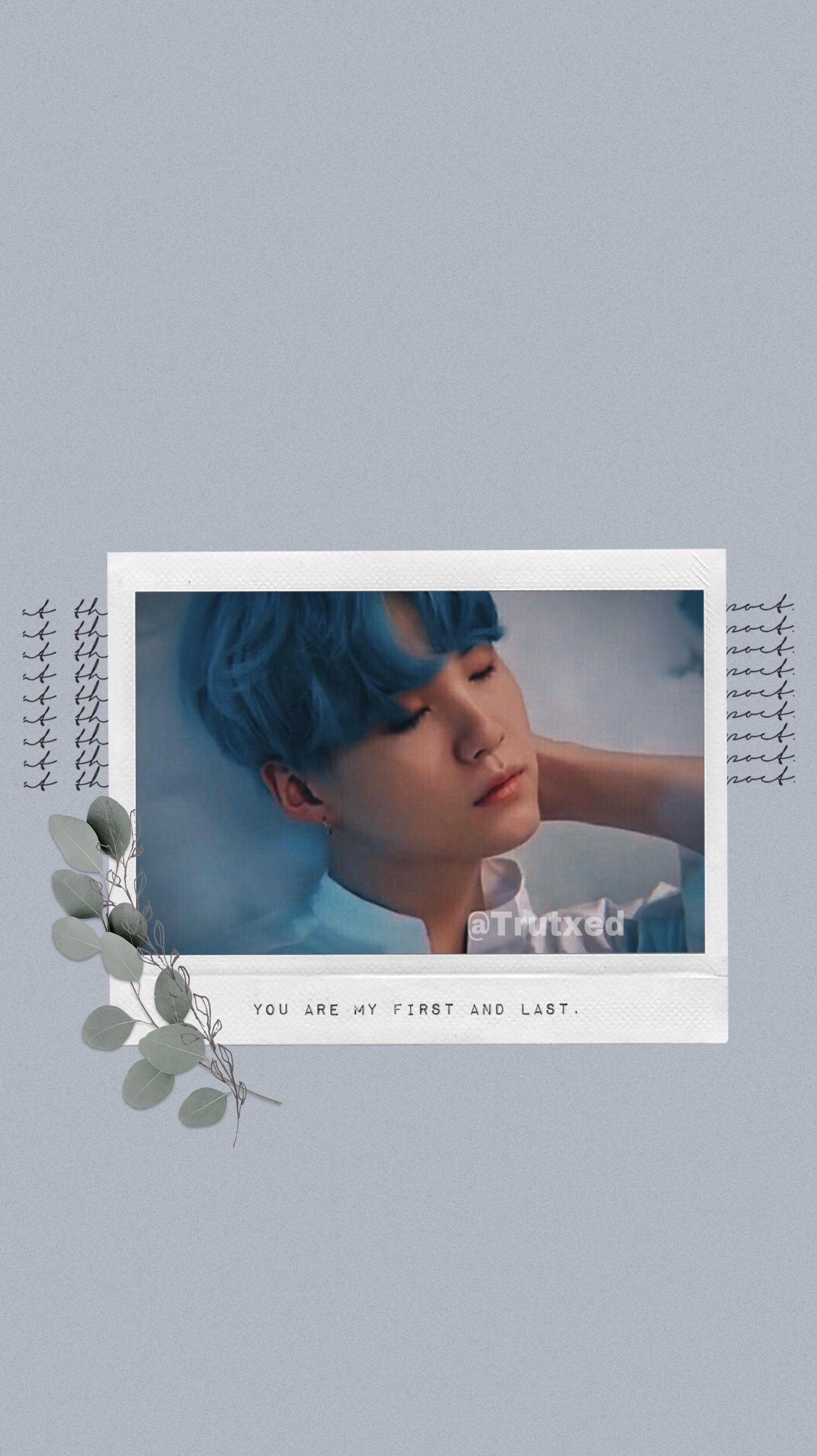 Yoongi Blue Wallpaper Bts Wallpaper Wallpaper Blue Wallpapers
