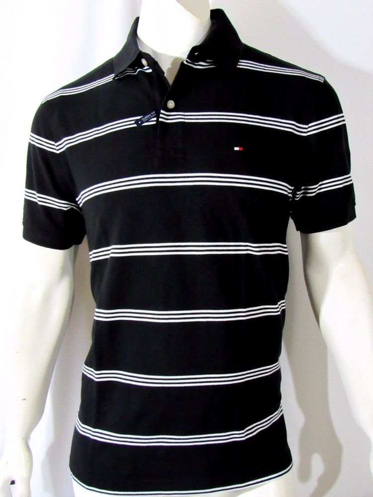 Tommy Hilfiger men's classic fit albie striped polo NEW msrp $69.50 on SALE #TommyHilfiger #PoloRugby