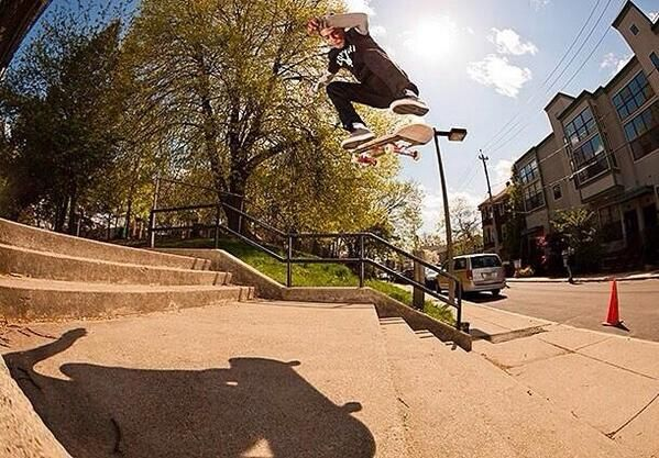 Chaz Ortiz with that BS Flip!