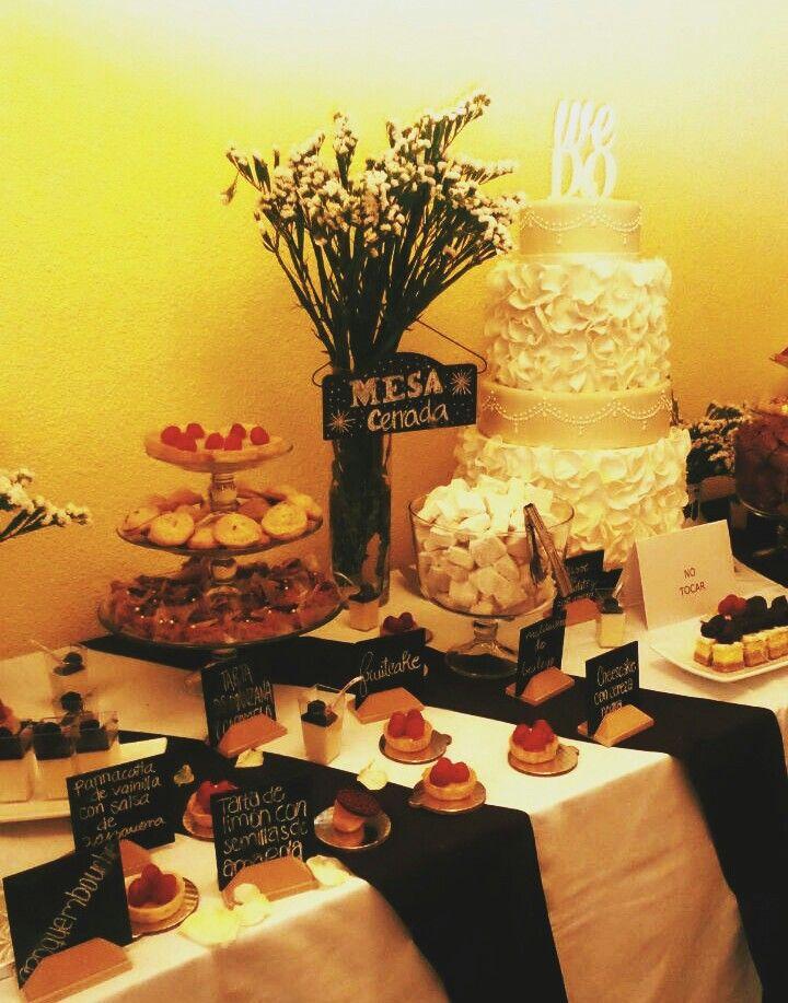 Mesa postres boda
