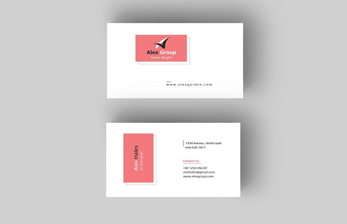 Business card template psd bussines card pinterest card business card template psd reheart Choice Image