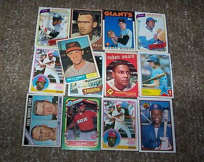 cool VINTAGE BASEBALL CARD LOT! 1961 TOPPS BOWMAN 1962