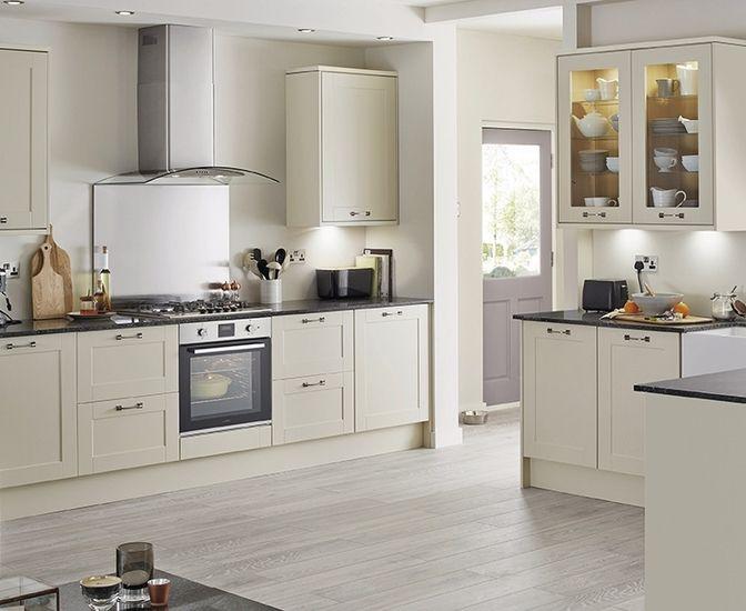 Burford Ivory Ivory Kitchen Shaker Style Kitchens Contemporary Style Kitchen