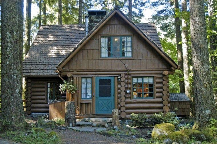 Fachadas de casas rusticas de madera casas rusticas - Casa de madera rustica ...