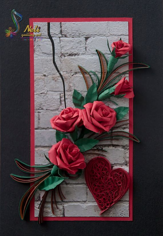 Quilled Valentines Day Craft Projects And Ideas 15 Quilling