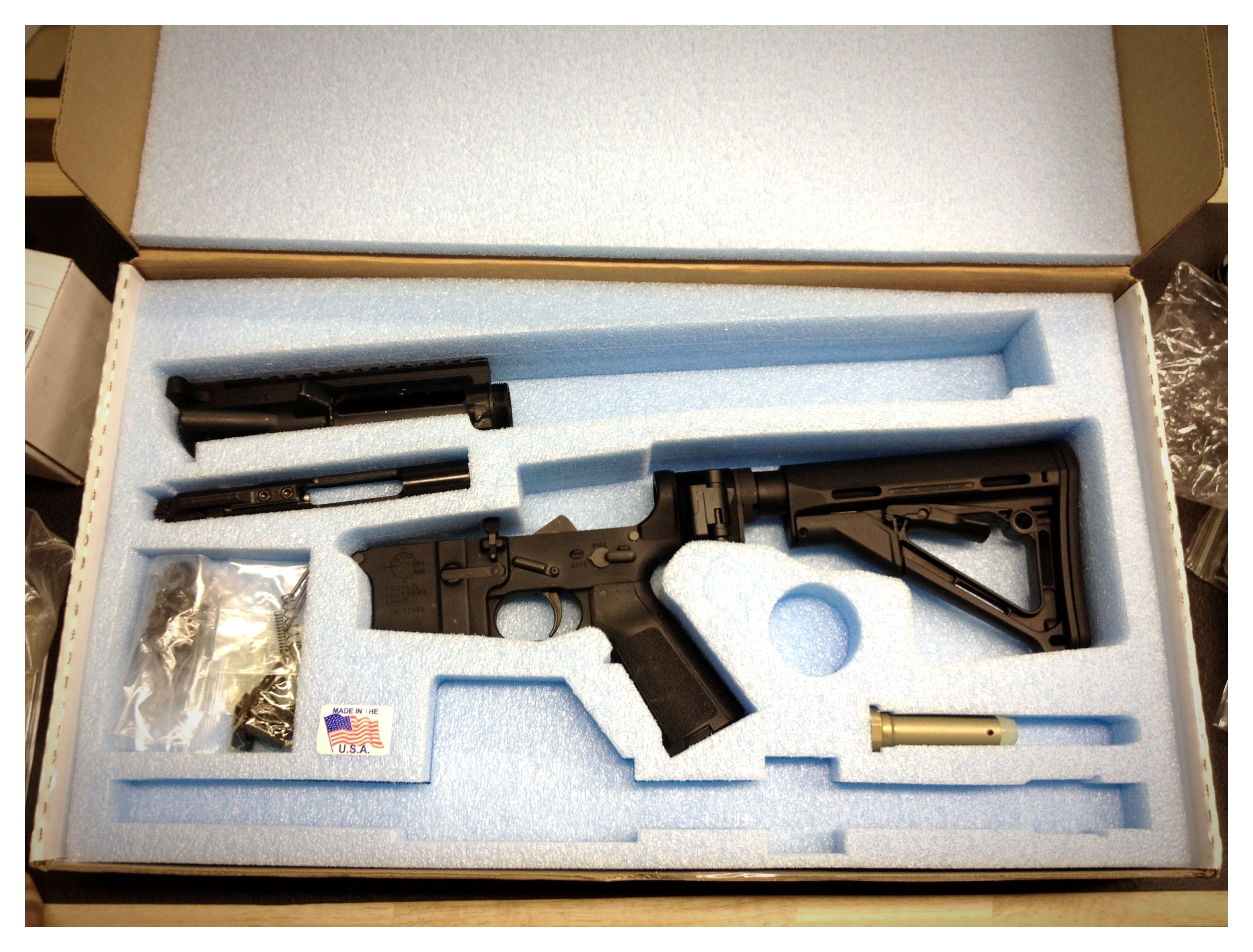Pin On Firearm Packaging