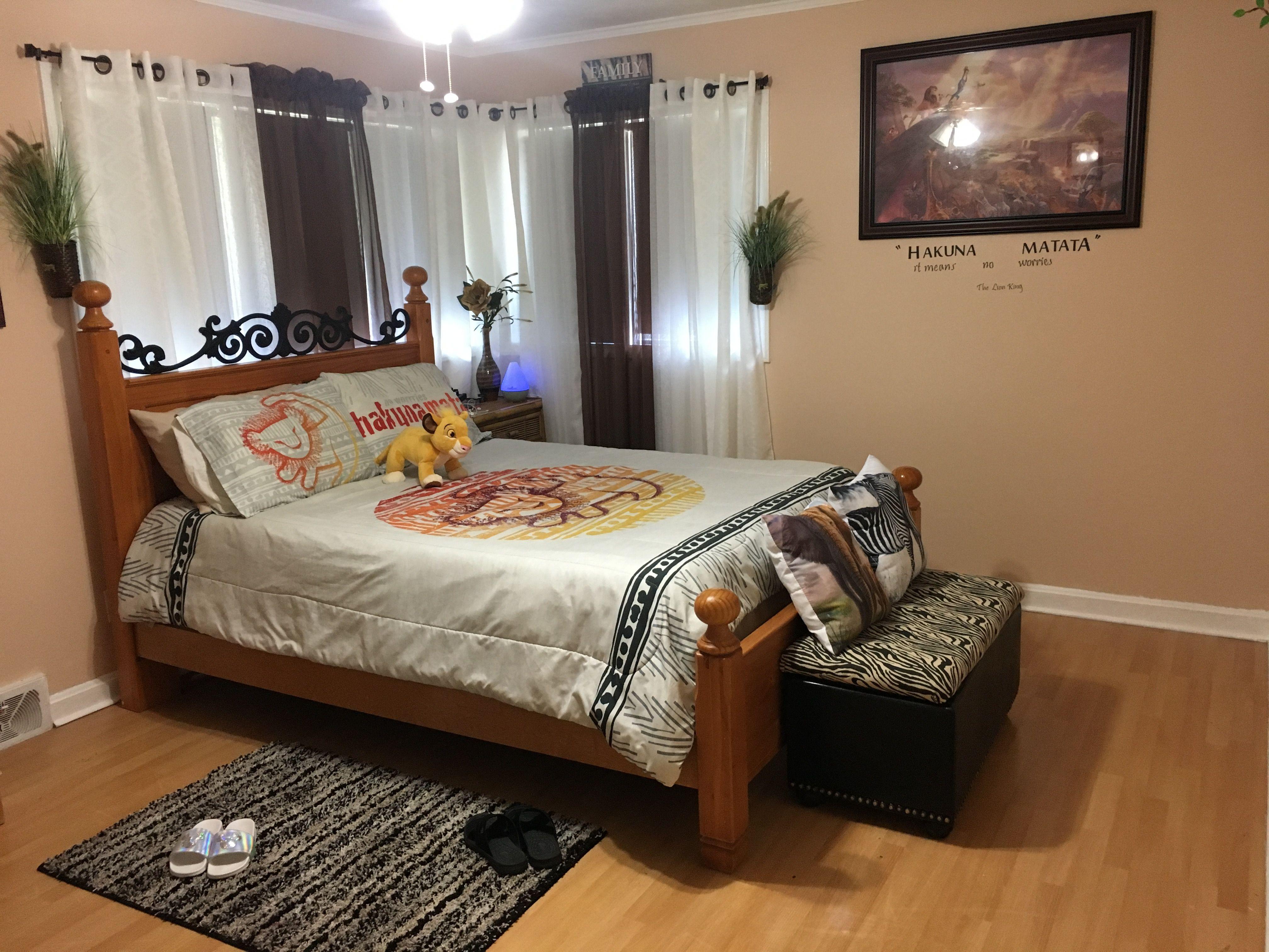 Lion king bedroom | King bedroom, Home decor, Furniture