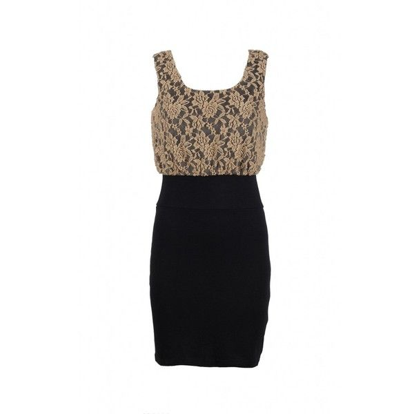Lace 2in1 Dress found on Polyvore