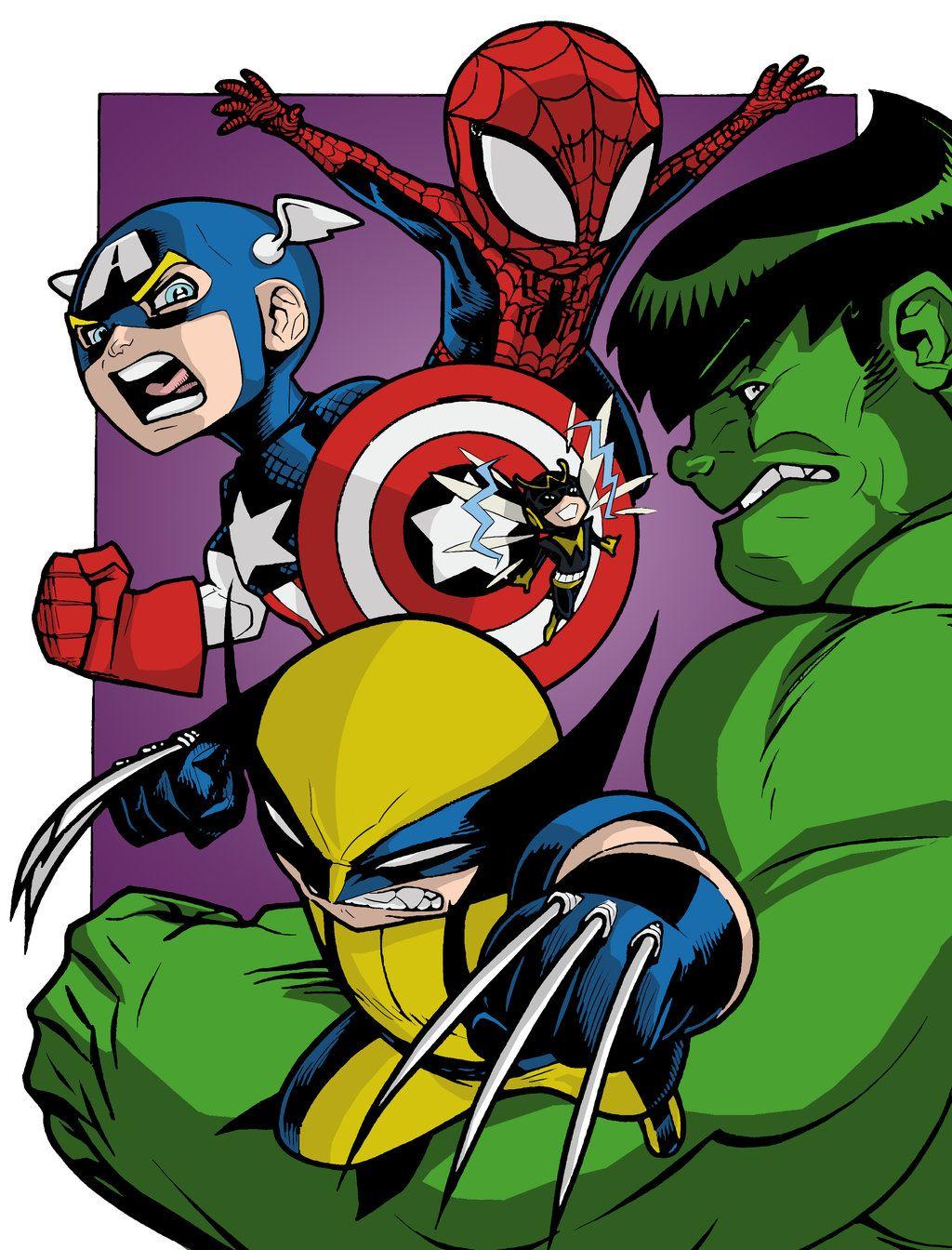 Avengers by ~shubcthulhu on deviantART | Chibi marvel ...