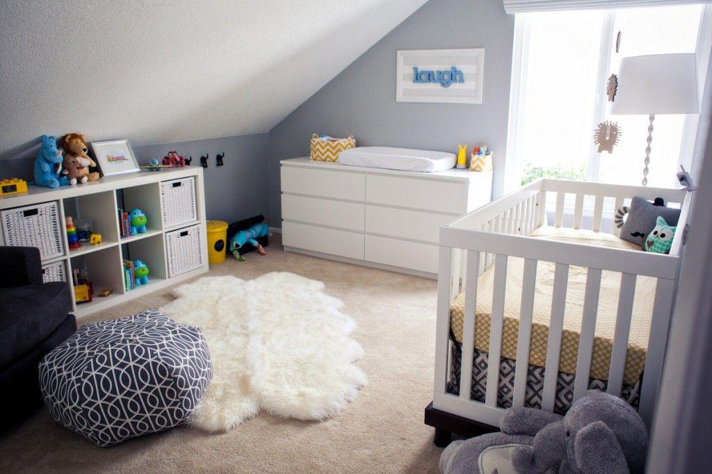 Ikea babyzimmer ~ Modern koala cuteness nursery infant and gray