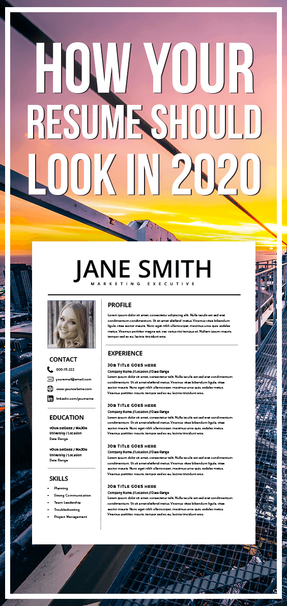 professional resume template - ms word compatible