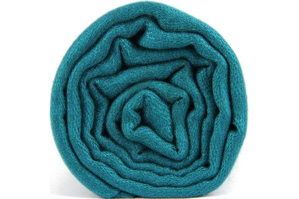 697ffd7957b3 Écharpe bleu vert canard - pashmina écharpe laine cachemire bleu vert  canard homme et femme - green blue cashmere shawl scarf wool man and woman