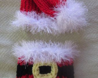 View Christmas Hat/Diaper by... from etsy.com on Wanelo