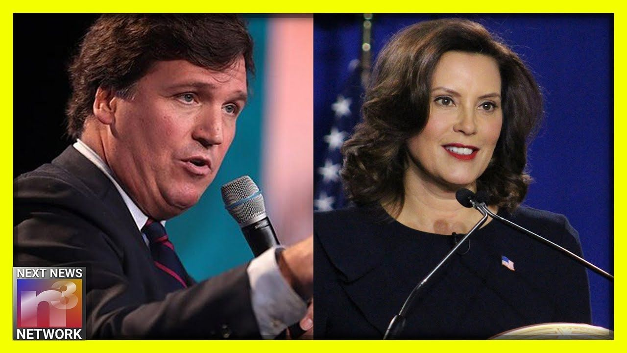 Tucker Carlson Goes Off On Michigan S Worst Nightmare Their Governor In 2020 Kids Youtube Channel Tucker Carlson Youtube Kids