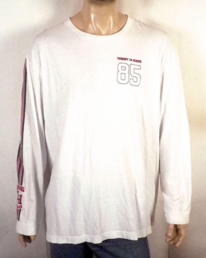 8c3dd4ebe Tommy Hilfiger T Shirt 90s Logo