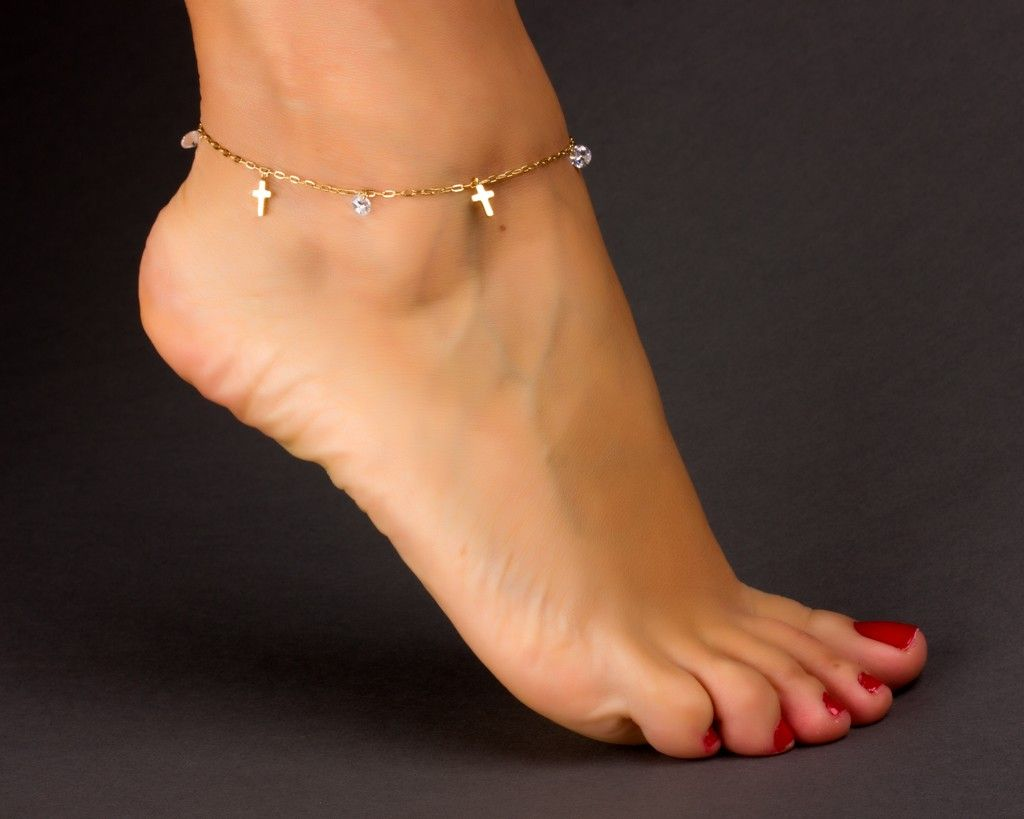 chain layer foot bracelet ankle jewelry water anklets double fashion beach gold hollow plated anklet product