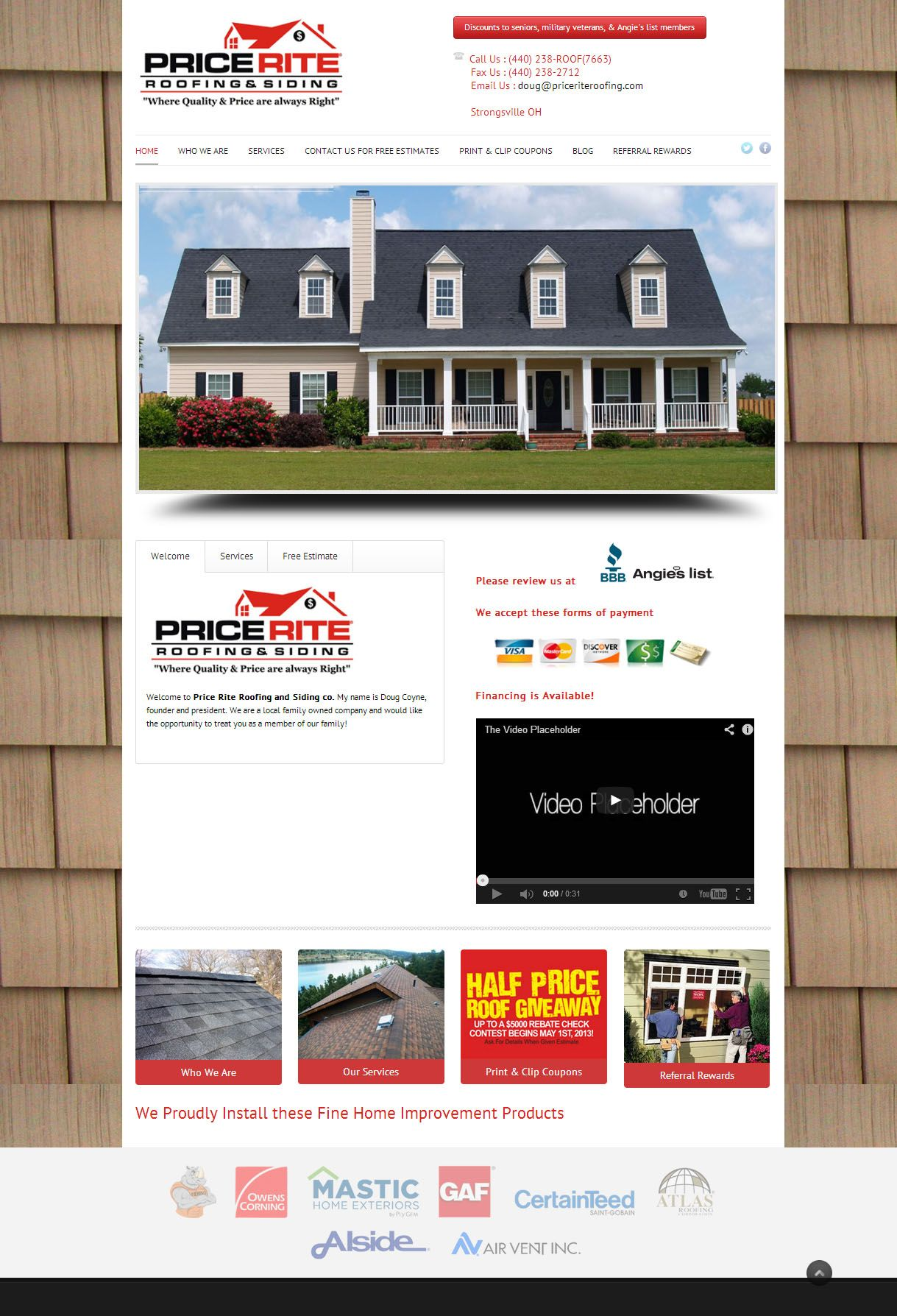 Price Rite Roofing by Gogiro