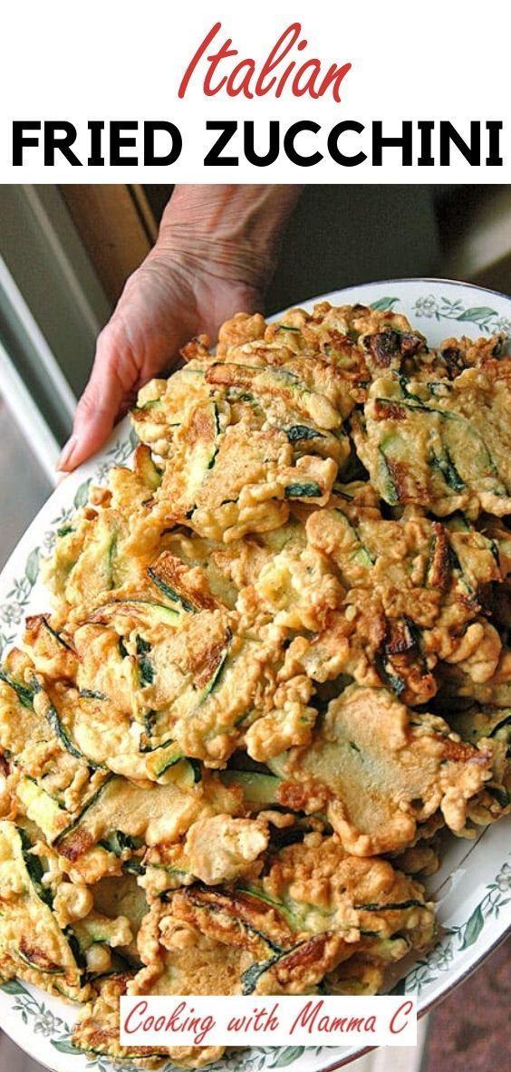 Nonna's Batter-Fried Zucchini