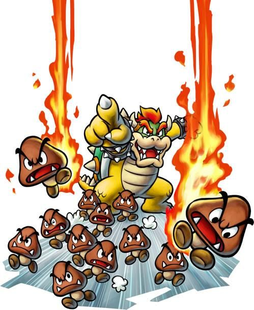 mario and luigi bowser inside story rom wont work