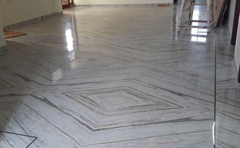 Jhanjhar White Marble Best Price Flooring Slabs Tiles Wholesaler