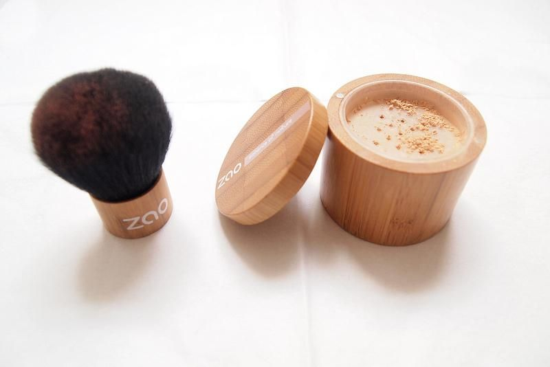 ZAO Organic Makeup on Organic foundation, Organic makeup