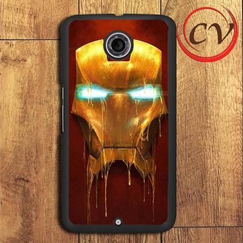 Iron Melted Mask Nexus 5,Nexus 6,Nexus 7 Case