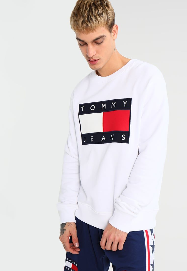Tommy Jeans 90S - Sudadera - white nlGZzRP0b