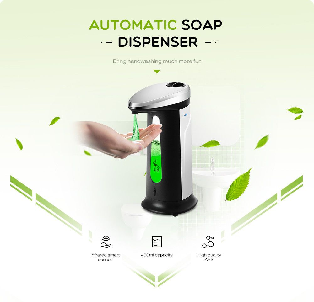 Automatischer Seifenspender Mit Integriertem Infrarot Smart Sensor