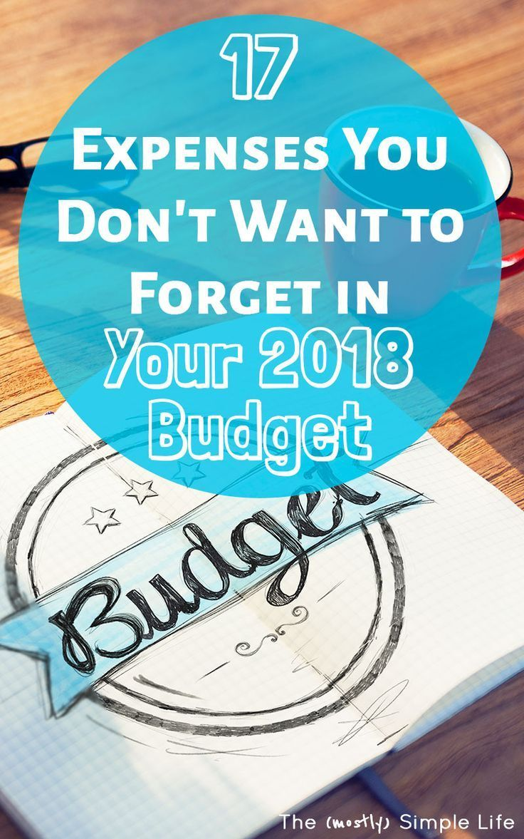 17 Expenses You\'re Forgetting to Budget For | Pinterest | Yearly ...