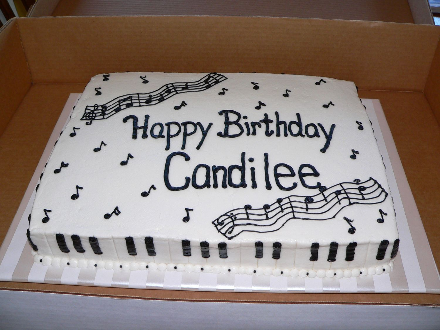 Piano Birthday Piano Cakes Music Cakes Birthday Sheet Cakes