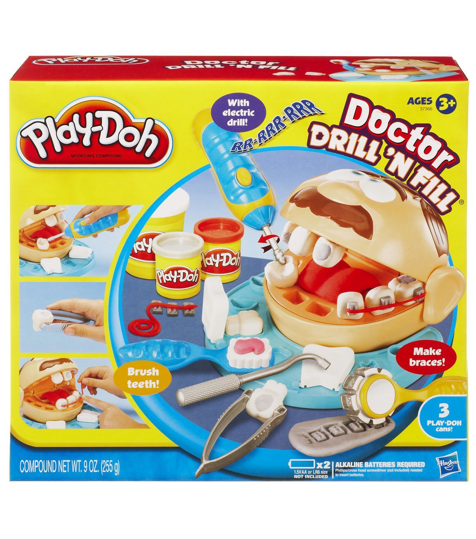 Play Doh Dr Drill N Fill Play doh, Dental humor, Hasbro