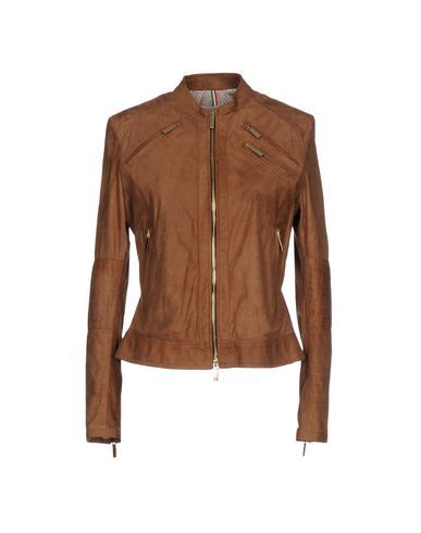 new concept 9be0b 1d016 Just For Luck Women Leather Jacket on YOOX. The best online ...