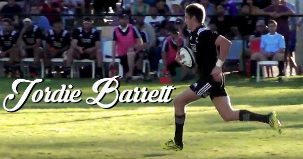 Jordie Barrett looks set to follow in the footsteps of @AllBlacks brother Beauden (@Rugbydump) | Twitter