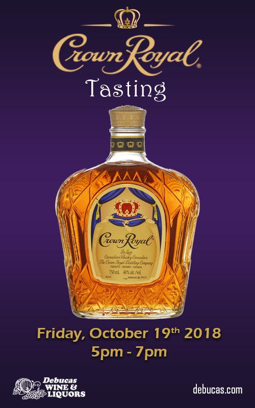 In Tasting Crown Royal Date
