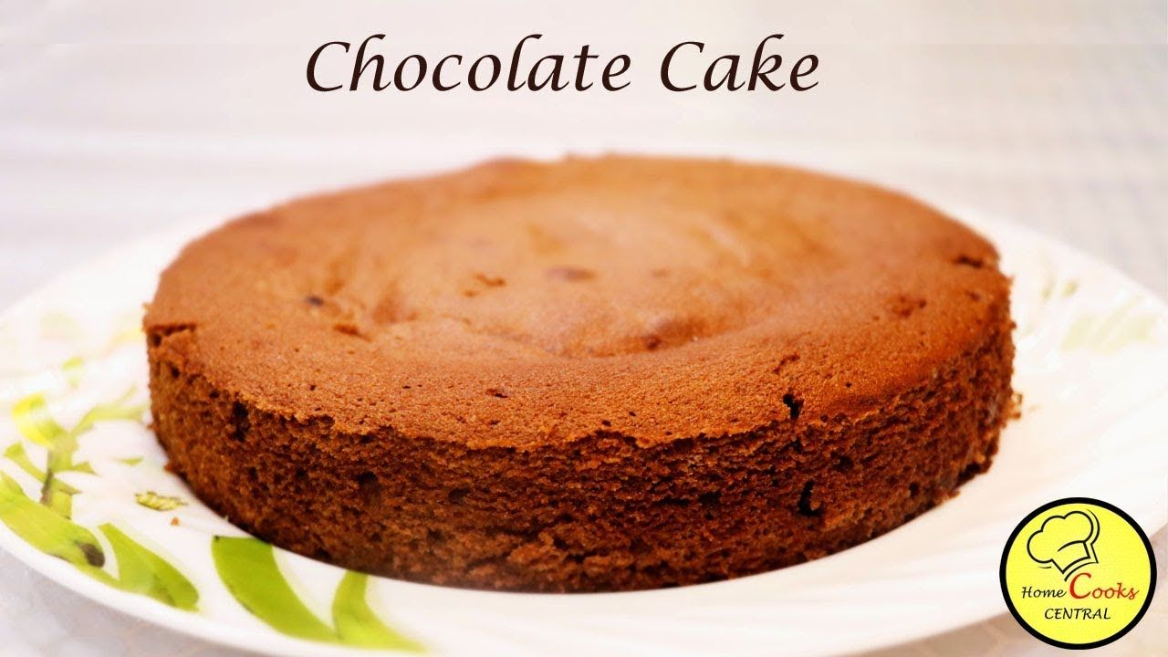 Chocolate Cake Recipe In Hindi Easy Moist Chocolate Sponge