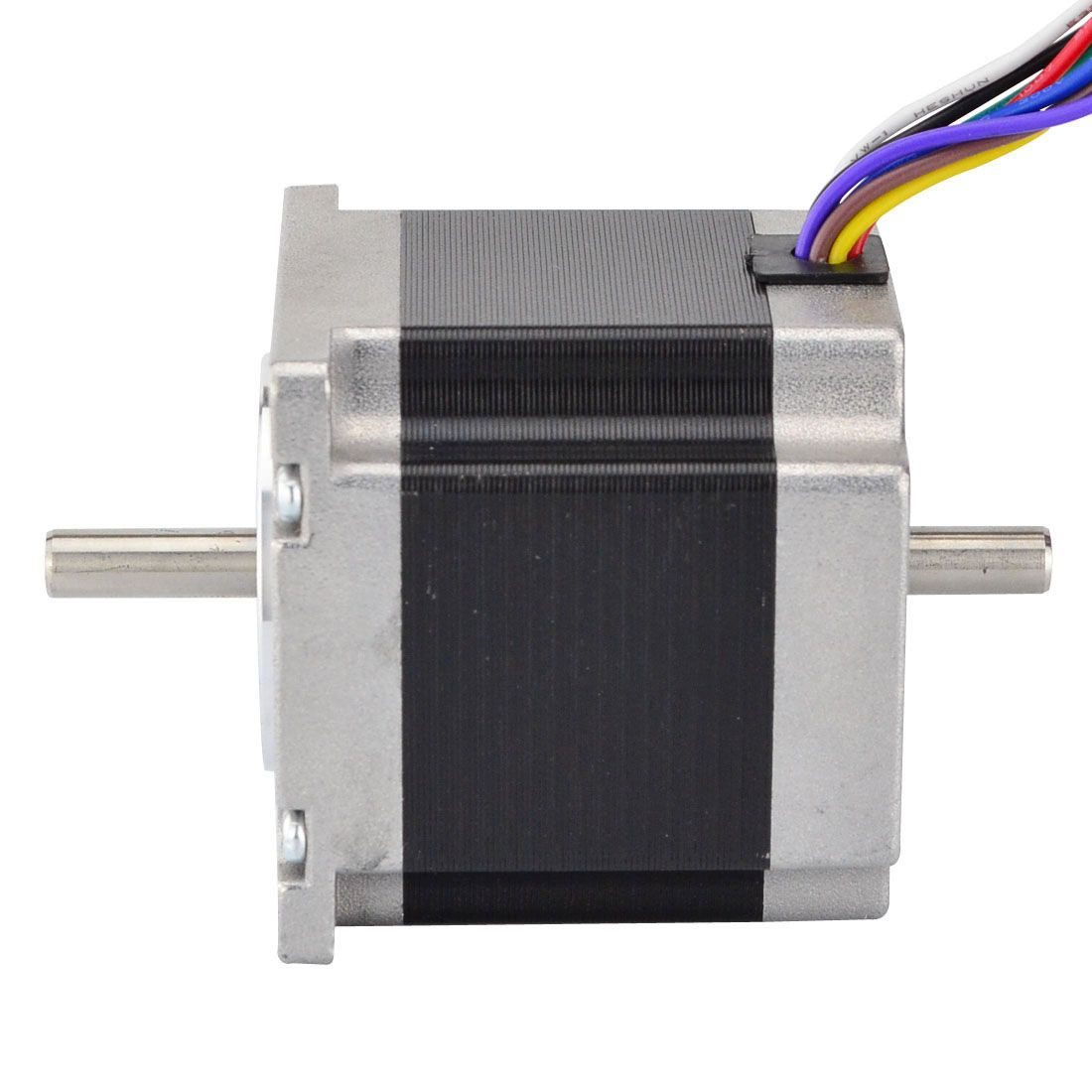This Nema 23 Stepper Motor With Step Angle 1 8deg And Size 57x57x56mm It Has 8 Wires Which Have Three Connection Options Unipol Stepper Motor Steppers Motor