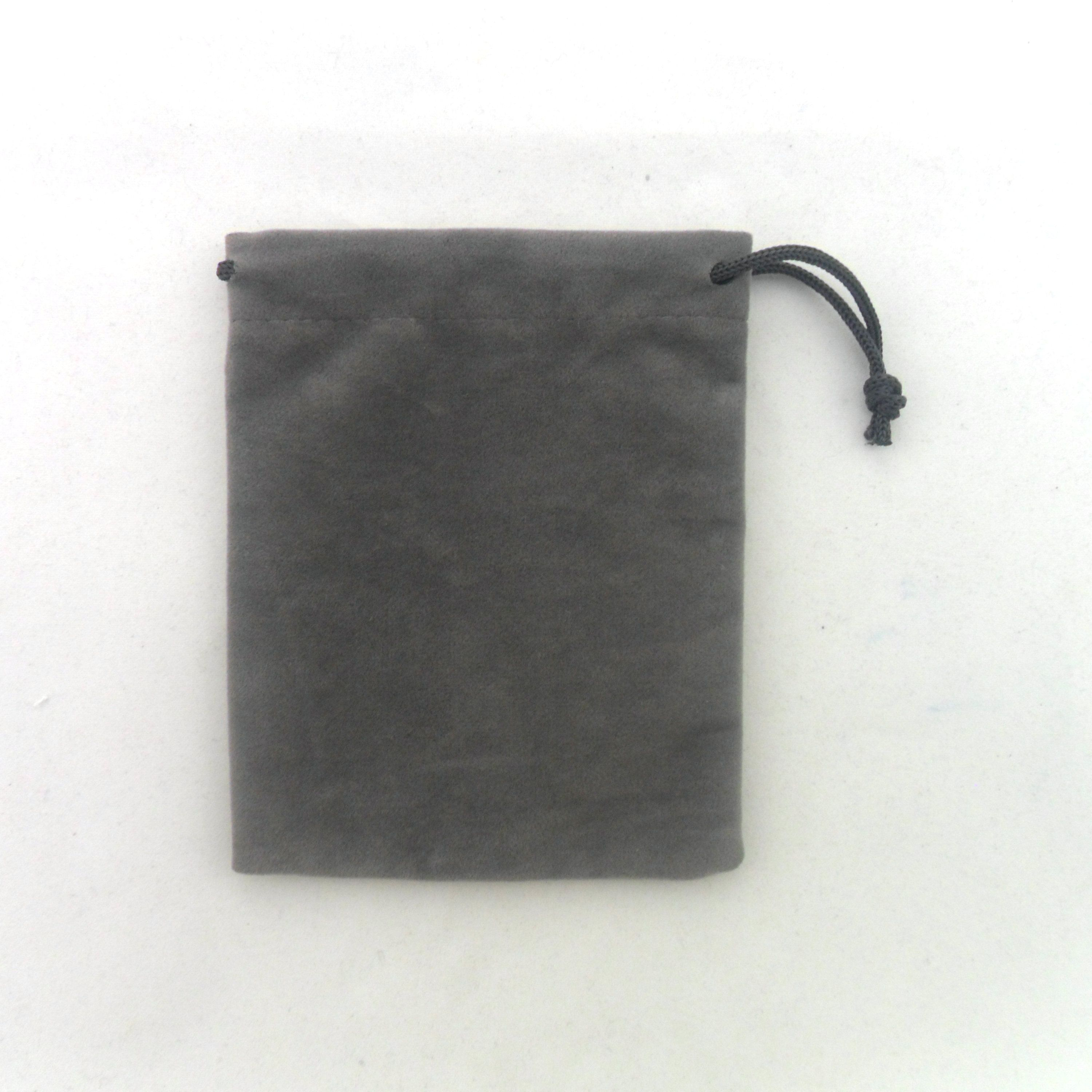 Wholesale Velvet Jewelry Pouches High Quality Velvet Luxury Packing Drawstring Jewelery Pouch